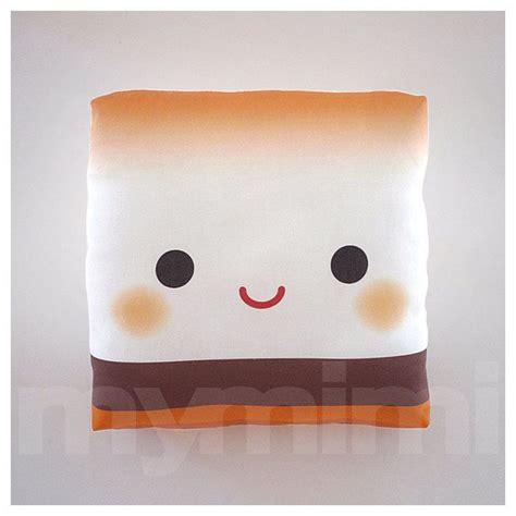 decorative pillow marshmallow pillow s more c pillow