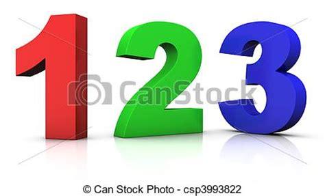numeri clipart clipart di numeri variopinto grande rosso verde e