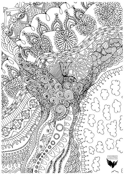 Free Colouring Pages Mindfulness Teapot Coloring