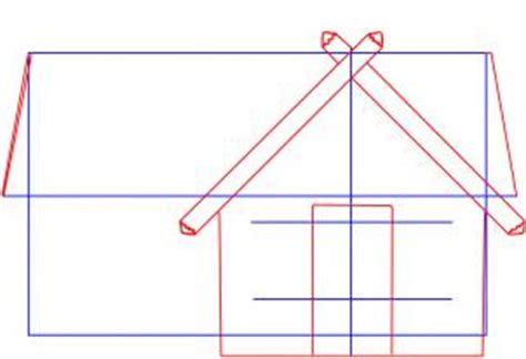 House Online Free drawing printout how to draw a log cabin house