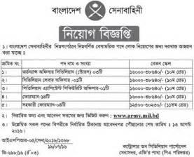 bangladesh army job circular 2016 job bd com