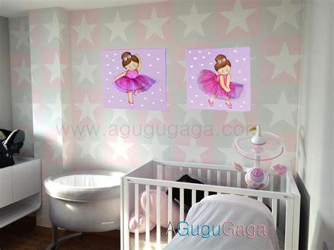 cuadros de bailarinas de ballet cuadro infantil quot bailarina quot agugugaga decoraci 243 n