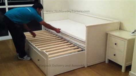 ikea bed with trundle and drawers ikea hemnes day trundle bed with 3 drawers white quot no