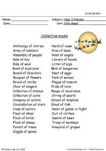 primaryleap co uk collective nouns worksheet