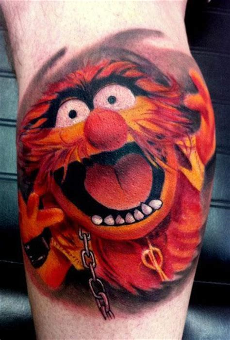 muppet tattoo animal by piercy muppets animal tattoos