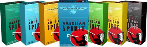 american spirit types colors specialty cigarettes and snus hops and habanas