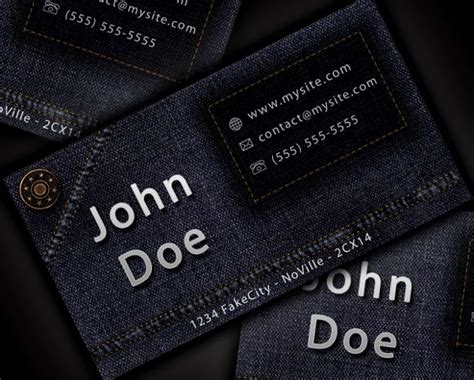 cool photshop template business cards 100 free psd business card templates