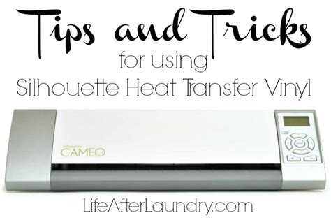 how to use printable heat transfer vinyl with silhouette cameo tips and tricks for using silhouette heat transfer vinyl