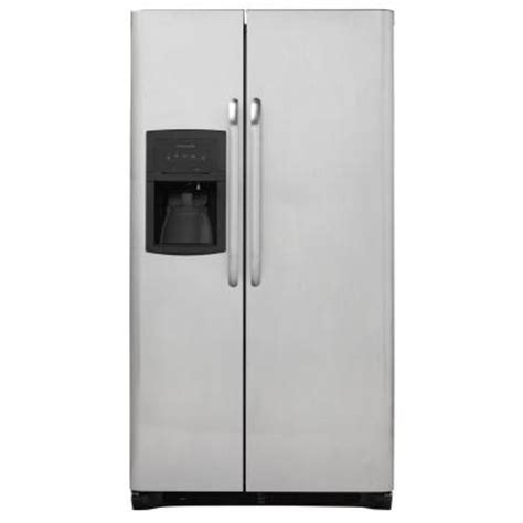 frigidaire 25 54 cu ft side by side refrigerator in