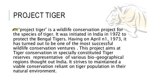 Essay On Tigers In India by Save The Tigers For Class Ix