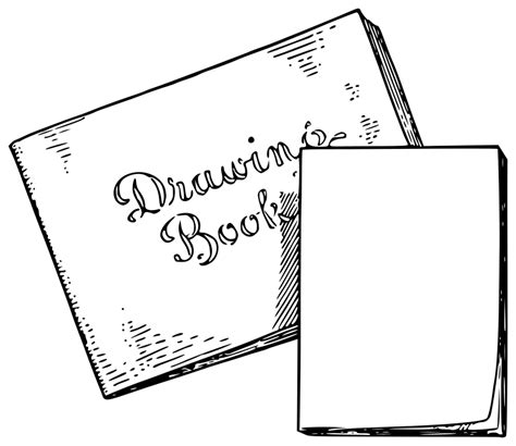 Drawing New In Paperback clipart lutz drawing book and scribbling pad