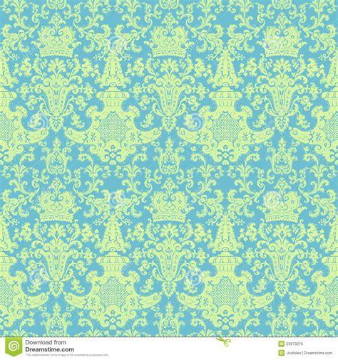 vintage pattern green victorian vintage blue green damask pattern stock