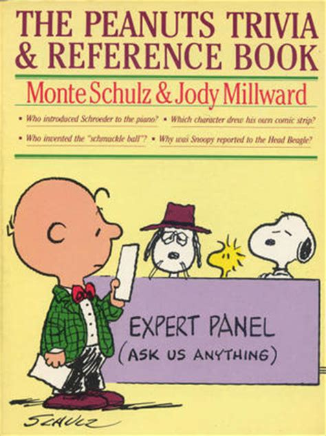 general reference books quiz peanuts trivia and reference book by monte schulz