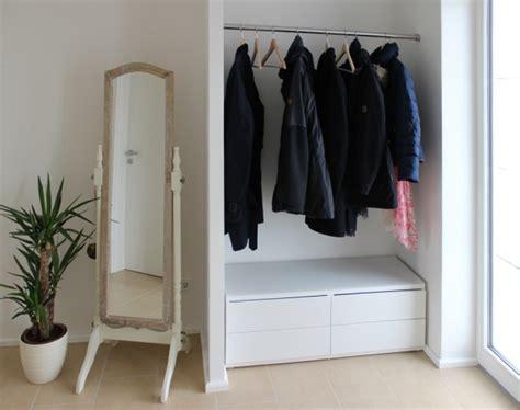 garderobe nische inspiration garderobe phos edelstahl design