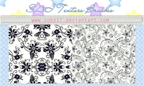 pattern brush sai flowers brushes for paint tool sai by coby17 on deviantart