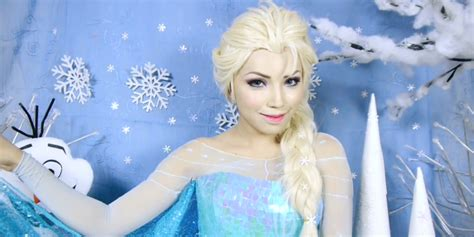 tutorial rambut ala frozen tutorial make up ala elsa frozen wajib coba