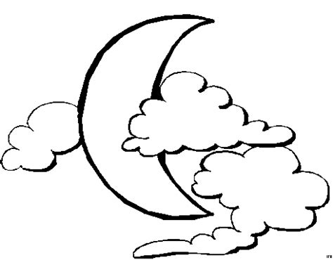 Moon Coloring Pages Coloringpages1001 Com Moon Coloring Page