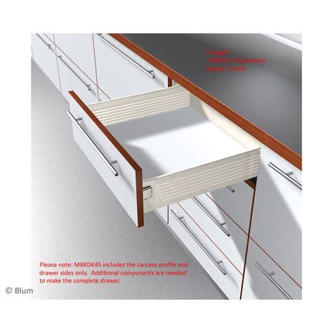 Drawer Slides Australia by Drawer Slide Metabox Blum 118x450 Side Mount Ppmbkdk45b
