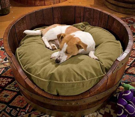 wine barrel dog bed wine barrel dog bed hiconsumption