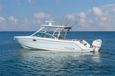 new boats new robalo 317 dual console power boats boats online