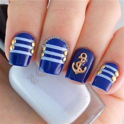 imagenes de uñas de acrilico color azul ideas para decorar las u 241 as de azul mis u 241 as decoradas