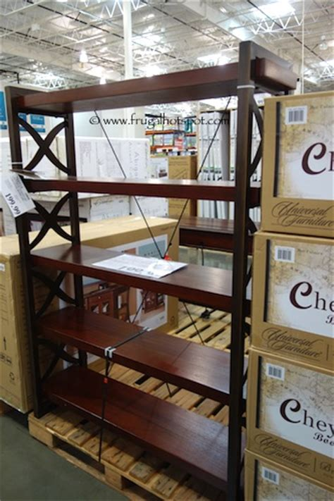 costco universal furniture cheyenne bookcase frugal hotspot