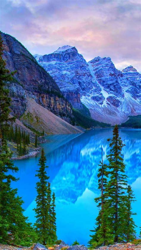 lake moraine banff park wallpaper  desktop