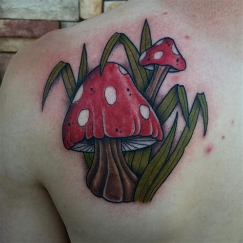 mushrooms tattoo designs designs related keywords suggestions