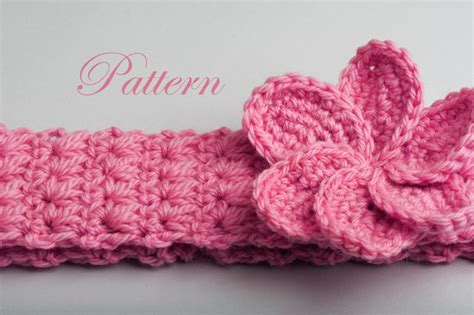 free crochet pattern flowers headbands 17 best images about crochet baby headbands free crochet