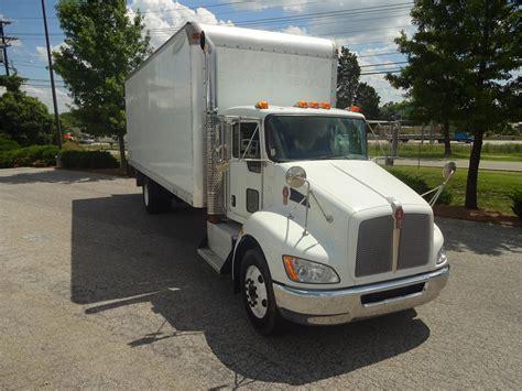 kw box truck kenworth t370 van trucks box trucks for sale used trucks