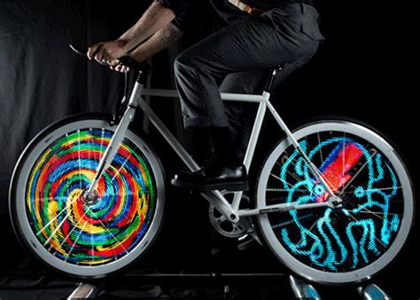 Monkey Bike Lights by Monkey Light Pro Lets You And Animate Your Own