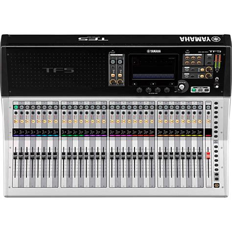 Mixer Yamaha 32 Channel yamaha tf5 32 channel digital mixer musician s friend