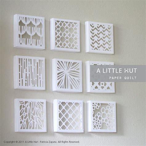 Quilt Paper Craft - best 25 paper quilt ideas on diy paper