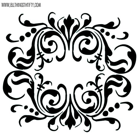 Stencil Patterns Just For You Free Stencil Templates