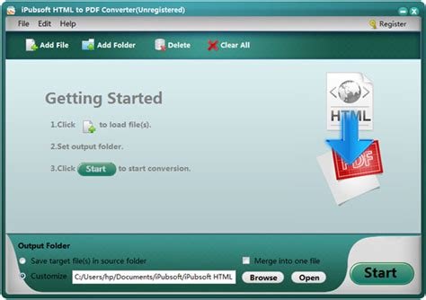 converter html to pdf ipubsoft html to pdf converter save web pages into pdf easily