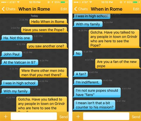 How To Search For On Grindr We Talked To On Grindr Who Are Visiting New York To See The Pope Broadly