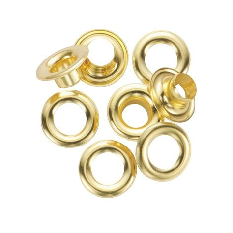Solid Rubber Grommet Kit by General Tools 1 2 In Refill Solid Brass Grommet Kit And