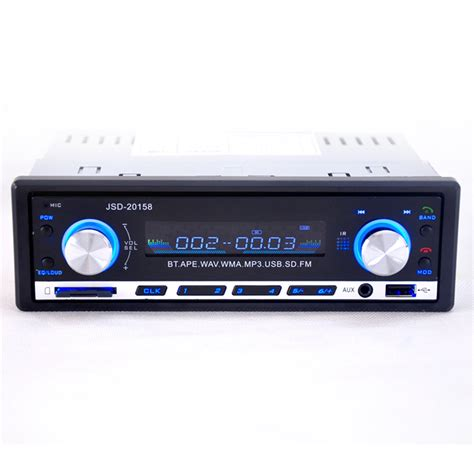 jsd 520 bluetooth vehicle car mp3 player stereo with fm