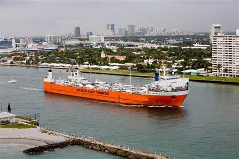 boat transport ft lauderdale 187 dockwise yacht transport triple play in ft lauderdale