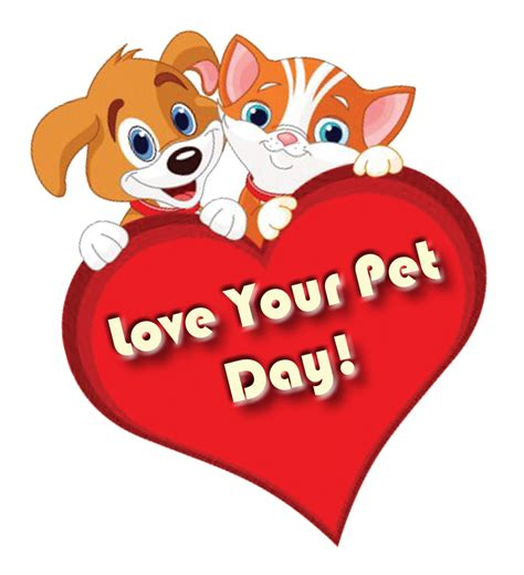 love  pet day february  atloveyourpetday national