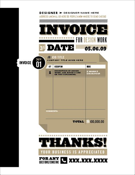 graphic design invoice template uk 10 creative invoice template designs twelveskip
