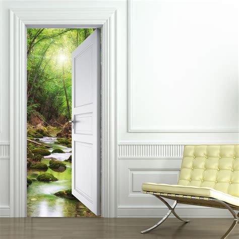 door stickers wallstickers folies nature door stickers