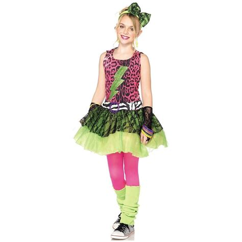 80s valley girl costume totally 80s amy costume kids pop star valley girl madonna