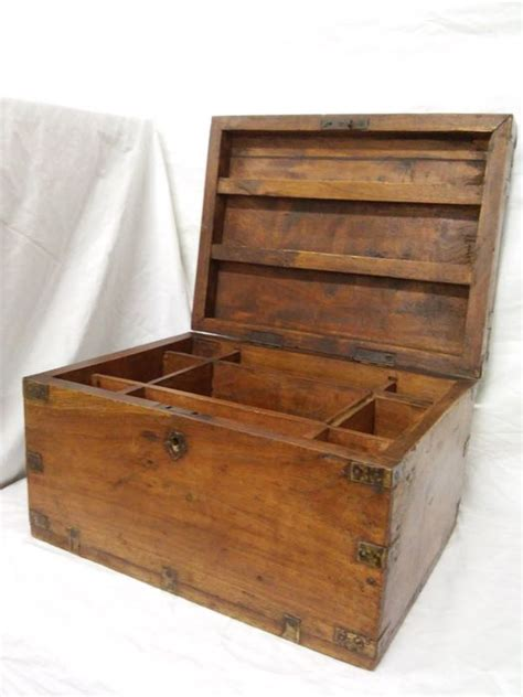 Handmade Wooden Caskets - handmade solid wood casket late 19th century catawiki