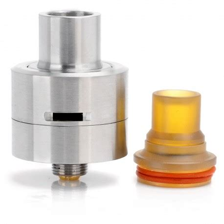 Helios M Plastic Rda Rebuildable Atomizer sjmy m atty silver 316 stainless steel rda rebuildable atomizer
