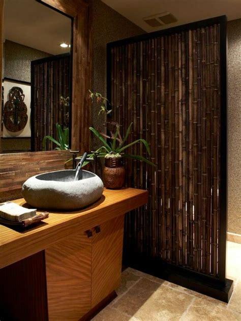 Tropical Curtain Panels Du Bambou D 233 Co Pour Un Int 233 Rieur Original Et Moderne 224