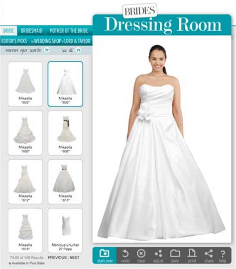 Design A Virtual Wedding Dress Online   List Of Wedding