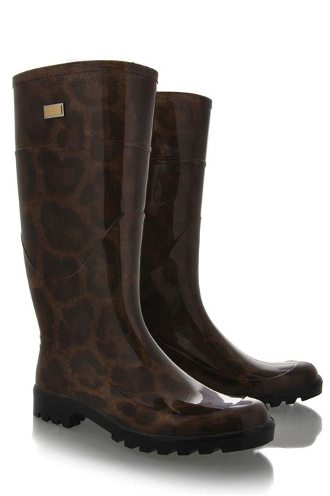 dolce and gabbana boots dolce gabbana stivale brown leopard boots womenshoes