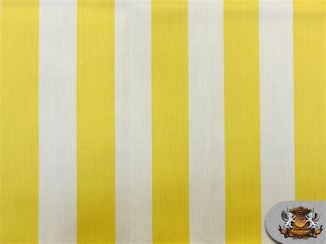 yellow and white upholstery fabric indoor outdoor sunbrella deck stripe yellow white fabric