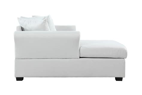 sofa with wide chaise modern large linen sectional sofa with wide chaise